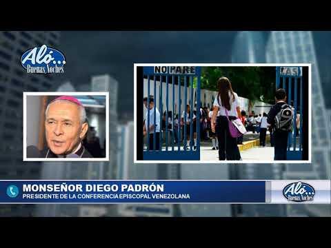 """ALO BN 08/01: MON. PADRON: """" ESTAMOS A LAS PUERTAS DE UNA CONVULSION SOCIAL"""""""