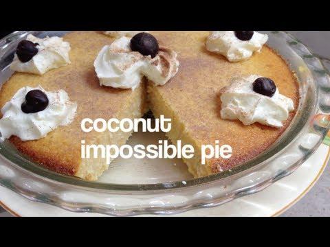 Impossible Coconut Pie Thermochef Video Recipe