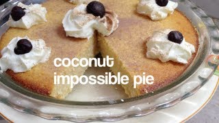 Impossible Coconut Pie Thermochef Video Recipe