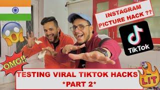 We Tested *VIRAL TIKTOK LIFE HACKS* FT.TRIGGERED INSAAN !!