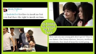 10 times One Direction stood up for their fans