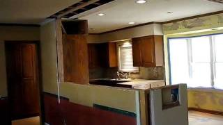 Galley Kitchen Open Floor Plan Remodel