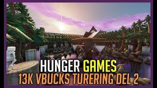 LAST SURVIVOR WINS in HUNGER GAMES * 13K VBUCKS TOURNAMENT PART 3 *-Fortnite in English