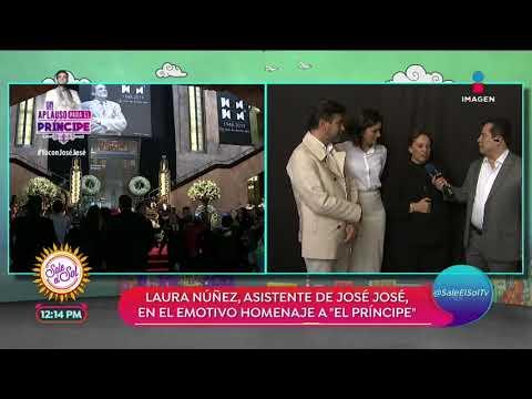 Laura Núñez habla de la incertidumbre que vivieron los hijos de José José | Sale el Sol thumbnail