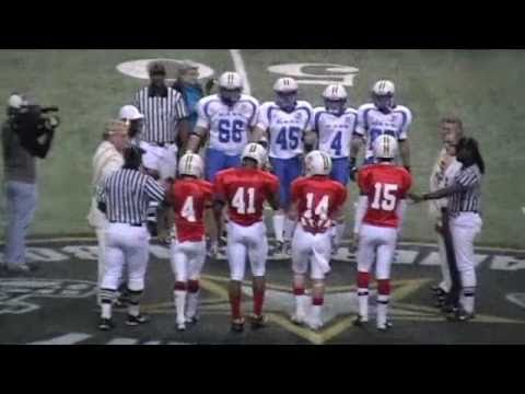 JOSH QUIJADA 2011 EASTBAY YOUTH ALL-AMERICAN BOWL