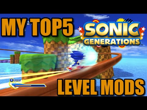 5 Enjoyable Sonic Generations Level Mods  