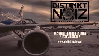 Indian Hip Hop Instrumental | Hard Hip Hop Instrumental | Landed In India (Prod By M.Simile)