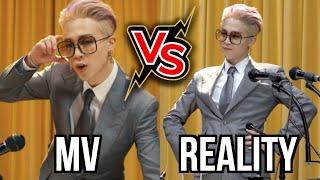 BTS Butter MV vs REALITY 😂