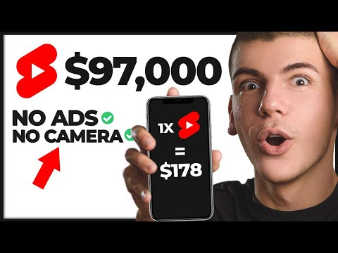 Copy & Paste YouTube Shorts And Earn $178 Per Video   (BEST Step by Step Tutorial)