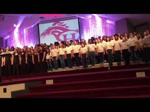 Center Hill Middle School Choir directed by Brooke Michelle Hornsby