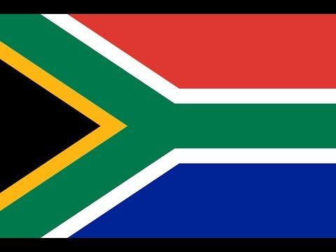 Флаг Южно-Африканской Республики.