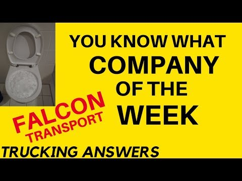 Cr*P Company Of The Week Falcon Transport | Trucking Answers