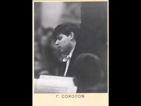 Grigory Sokolov | Live in Lisbon 16 years old | Tchaikovsky Piano Concerto no.1