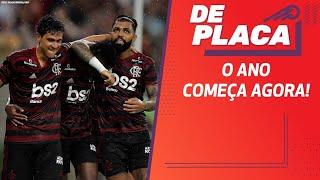 FLAMENGO vence RESENDE; SÃO PAULO empata com NOVORIZONTINO | De Placa (04/02/20)
