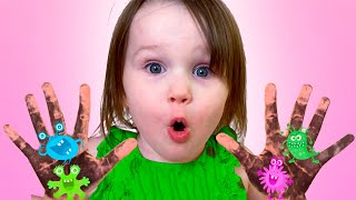 Five Kids Wash Your Hands Song + more Children's Songs and Videos