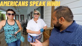 TEACHING AMERICANS HOW TO SPEAK HINDI || INDIAN VLOGGER IN USA