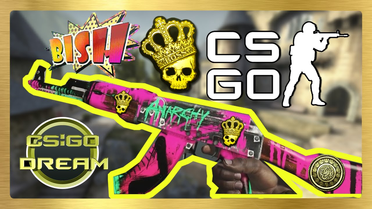 STICKER COMBINATIONS FOR AK-47 | Neon Revolution | CSGO