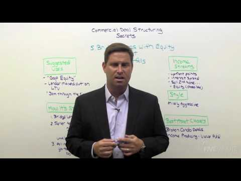 Commercial Deal Structuring 07: How To Structure Deals With Equity Shortfalls