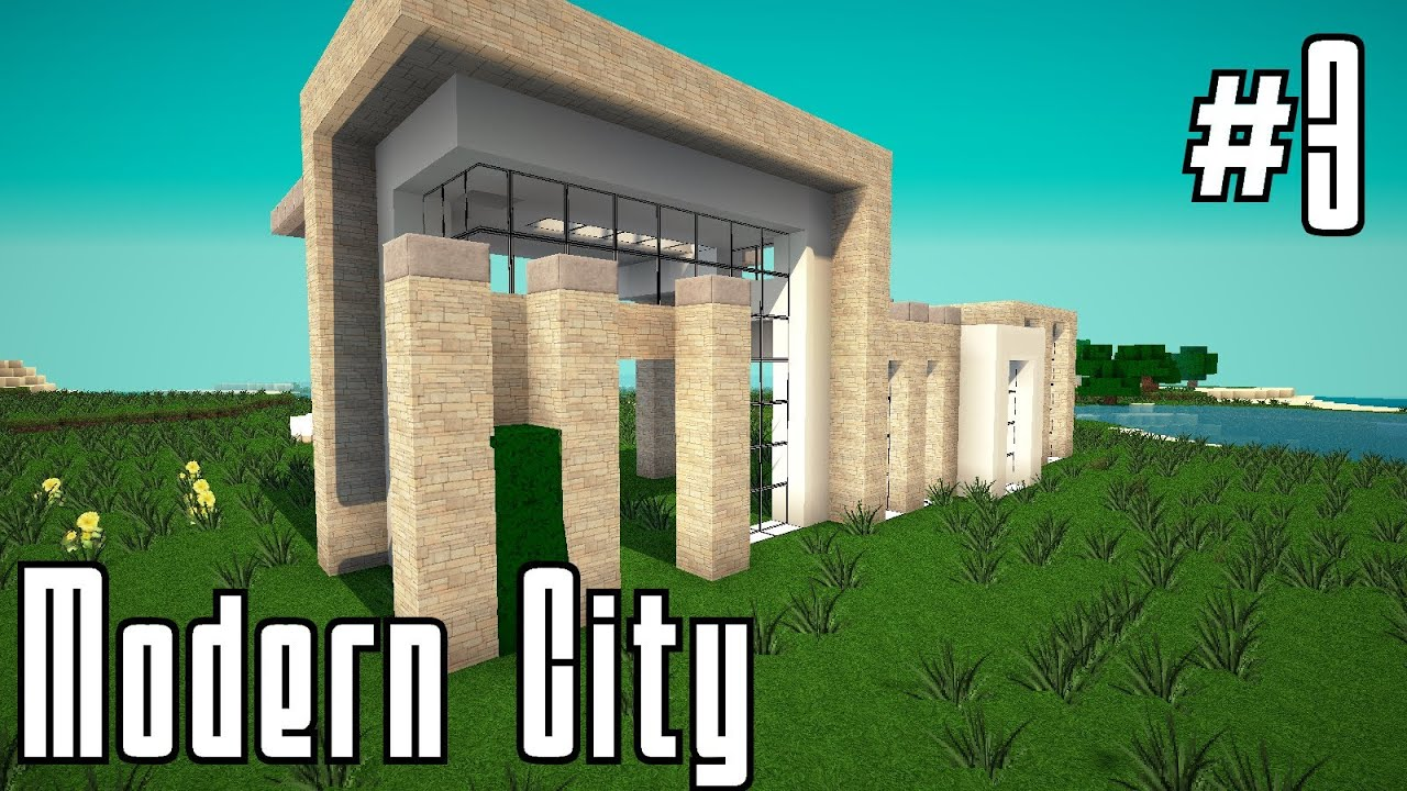 Minecraft modernes haus 4 bauen 005 hd youtube for Modernes haus minecraft