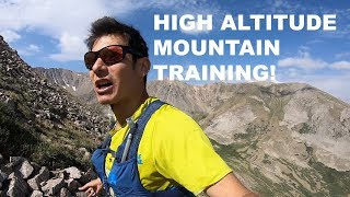HIGH ALTITUDE MOUNTAIN TRAINING FOR SPEEDGOAT 50KM AND PIKES PEAK MARATHON | Sage Canaday Running
