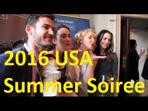 TravelMedia.ie USA Summer Soiree and Networking Event, July 2016, Shelbourne Hotel, Dublin