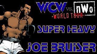 WCW vs. nWo: World Tour N64 Playthroughs - SUPER HEAVYWEIGHT Title with Joe Bruiser (1080p/60fps)