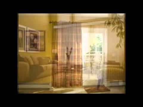 Window treatment ideas for sliding glass doors youtube window treatment ideas for sliding glass doors planetlyrics Images