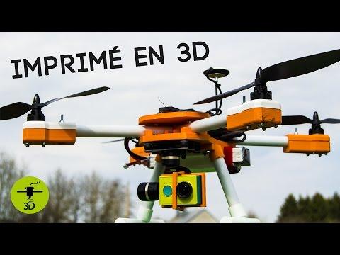✈️FABRIQUER SON DRONE DJI PHANTOM ?! - IMPRESSION 3D