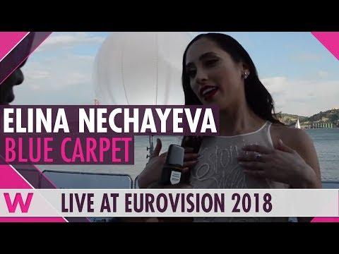Elina Nechayeva (Estonia) @ Eurovision 2018 Red / Blue Carpet Opening Ceremony