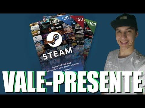 Como Resgatar Um Vale Presente Na Steam