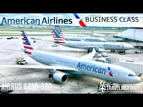 American Airlines Business Class Airbus A330 Athens to Philadelphia Trip Report