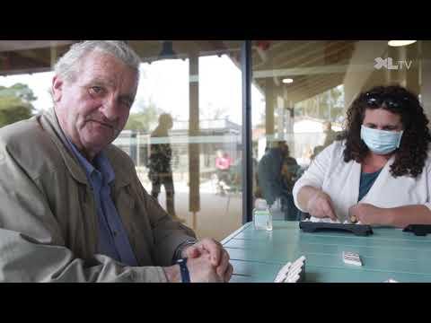 Village Landais Alzheimer | Rencontre avec un Villageois, James, et sa fille
