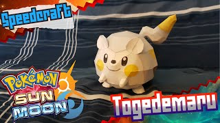 Pokemon Sun & Moon Papercraft ~ Togedemaru ~