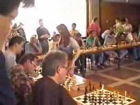 Judit Polgar simul 1999
