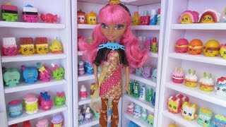 How To Make Shelves To Display Shopkins Etc. + Doll House Tour