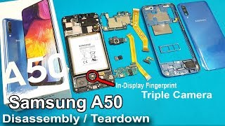 Samsung Galaxy A50 Disassembly / Teardown || How to Open Sammsung A50 / all internal Parts of A50