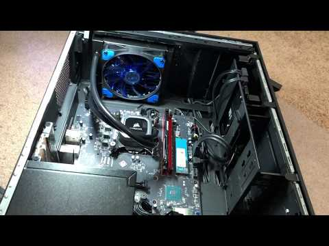 Installing CPU AIO cooler for HP Omen Obelisk
