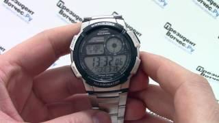 часы casio illuminator ae 1000wd 1a видео обзор от presidentwatches ru
