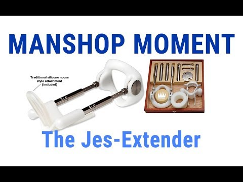 The Jes Extender: This Will Actually Make Your Penis Bigger.