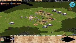 T9 AoE Solo Assyrian Tiểu Màn Thầu vs Tutj ngày 24-2-2018