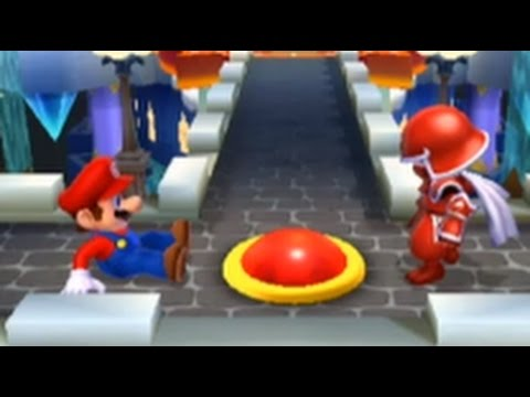 Mario Sports Mix (Wii U) - Basketball - Star Cup & Behemoth