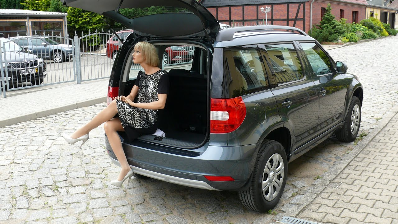 skoda yeti 1 2 tsi neuwagen vario flex sitze youtube. Black Bedroom Furniture Sets. Home Design Ideas
