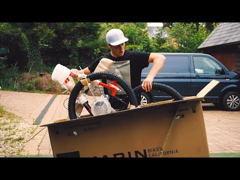 BUILDING AND RIDING A BRAND NEW ENDURO BIKE!!