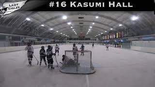 2018-2019 #16 Kasumi Hall GY 2023 Carolina Lady Eagle Highlights