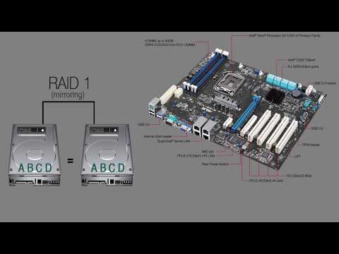 Установка Win2016 на RAID1 из SSD
