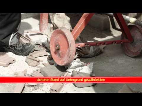 Video Kurzfilm Betonmischer & Mörtelquirl