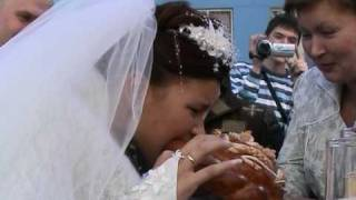 хлеб соль russian wedding: bread&salt 2008