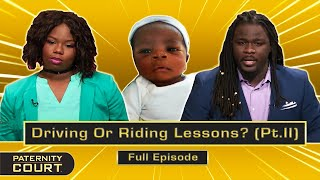 Driving Or Riding Lessons? Cheating Leaves Two Sons In Question (Full Episode)   Paternity Court