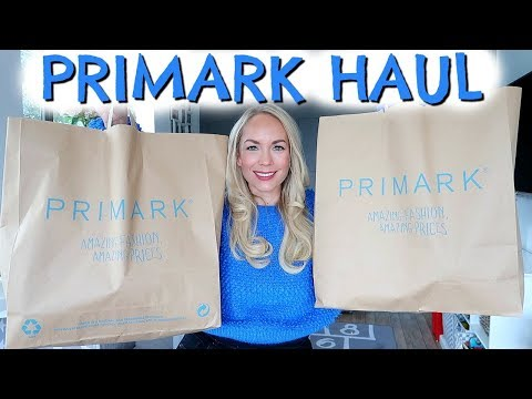 PRIMARK HAUL FEBRUARY 2018  |  SPRING SUMMER PRIMARK HAUL AND TRY ON