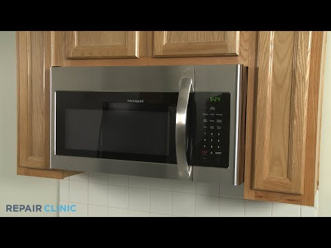 Frigidare Microwave Disassembly (Model FFMV1645TSA)